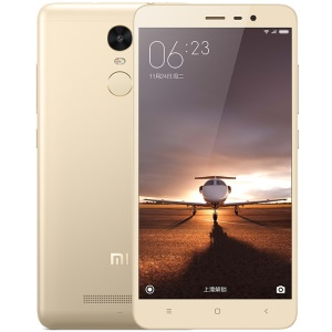 Xiaomi Redmi Note 3 Pro Qualcomm Snapdragon 650 Hexa-core 4G Smartphone 5.5-inch 2+16GB - Gold