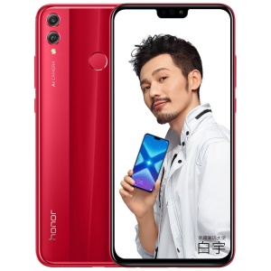 HUAWEI Honor 8X (JSN-AL00) 6,5 Pouces Kirin 710 Android 8.1 Octa Core 4G Smartphone 6 Go + 64 Go - Rouge