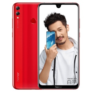 HUAWEI Honor 8X Max (ARE-AL00) 7.12-inch Octa Core Qualcomm Snapdragon 636 4G Smartphone 6GB+64GB - Red