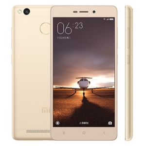 Xiaomi Redmi 3 Snapdragon 616 8-core 4G Smartphone 5.0-inch 3+32GB 13+5MP - Gold
