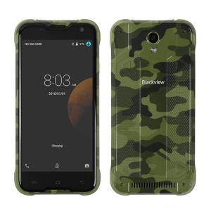 "BLACKVIEW BV5000 5.0"" 4G LTE Smartphone Waterproof Dustproof Shockproof Android 5.1 2+16GB - Camouflage"