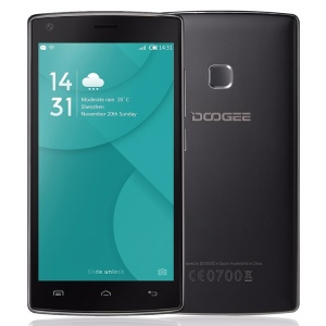 DOOGEE X5 Max Quad Core 5.0-inch Android 6.0 3G Smartphone 1+8GB - Black