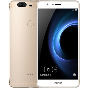 HUAWEI Honor V8 (KNT-UL10) 5.7-inch Android 6.0 Octa Core 4G Smartphone 4GB+32GB - Gold