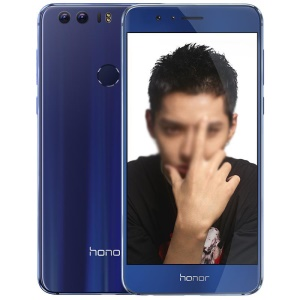 HUAWEI Honor 8 (FRD-AL00) 64GB ROM Octa Core 4G Smartphone Android 6.0 5.2-inch 4GB RAM - Blue