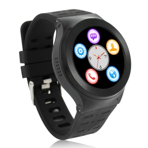 S99 3G-Talk Android V5.1 Smart Watch Phone, Support Pedometer Heart Rate Detection - Black