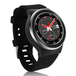 S99 3G-Talk Android V5.1 Smart Watch Phone, Support Pedometer Heart Rate Detection - Black / Silver