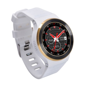 S99 3G-Talk Android V5.1 Smart Watch Phone, Support Pedometer Heart Rate Detection - White / Gold