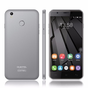 OUKITEL U7 Plus 5.5-inch Android 6.0 Quad-core 4G Smartphone 2GB+16GB - Grey