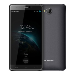 HOMTOM HT10 5.5-inch Android 6.0 MTK6797 Deca-core 4G Smartphone 4GB+32GB - Black