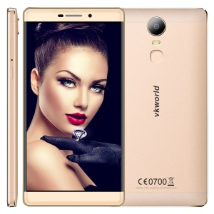 VKWORLD T1 Plus Kratos Android 6.0 4G 6-inch Smartphone Quad-core 8MP+13MP - Gold