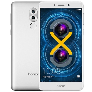 HUAWEI Honor 6X (BLN-AL10) Kirin 655 Octa Core 4G LTE Smartphone Android 6.0 4+32GB - Silver Color