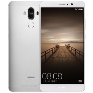 HUAWEI Mate 9 (MHA-AL00) 4G LTE 4GB/32GB Kirin 960 Octa Core Smartphone 5.9 inch Android 7.0 Support Google Play - Silver