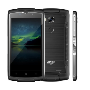 HOMTOM Zoji Z7 IP68 Waterproof 5.0-inch Android 6.0 MTK6737 Quad-core 4G Smartphone 2GB+16GB - Black