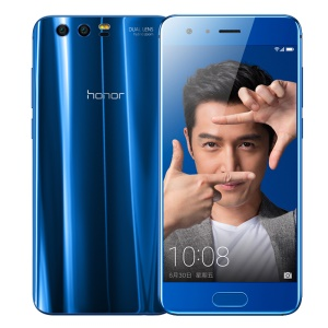 HUAWEI Honor 9 5.15-inch EMUI 5.1 Octa-core 4G Smartphone 4GB+64GB Support NFC - Blue