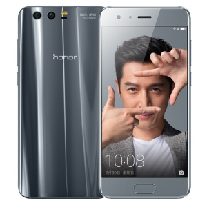 HUAWEI Honor 9 5.15-inch EMUI 5.1 Octa-core 4G Smartphone 6GB+128GB Support NFC - Grey