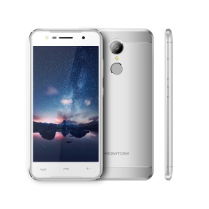 HOMTOM HT37 Nutte 5.0-Zoll Android 7.0 MTK6737 Quad-Core 4G Smartphone 3GB + 32GB-Silber