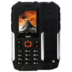 NOMU T10 2.0 inch IP68 Waterproof Dust-proof Shockproof 2G Mobile Phone Quad Band Unlocked Phone