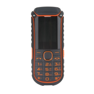 A5000+ 1.77-inch Dual SIM Bluetooth V2.0 2G Phone, Support FM Radio - Orange