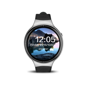 I4 Pro Multi-purpose 1.39 inch Android 5.1 Quad Core 2G+16G 3G Android Watch Phone - Black + Silver Color