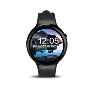 I4 Plus Multi-functional 1.39 inch Android 5.1 Quad Core 1G+16G 3G Smartwatch Phone - Black