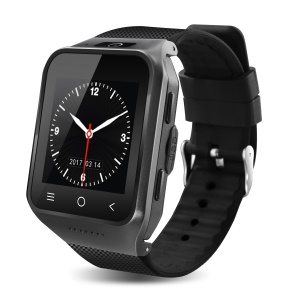 S8 Plus 3G Android 5.1 Watch Phone [GPS, WiFi, Bluetooth] [4GB ROM + 512MB RAM] - All Black