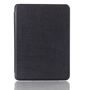 Black for Amazon Kindle Voyage Smart Leather Flip Case
