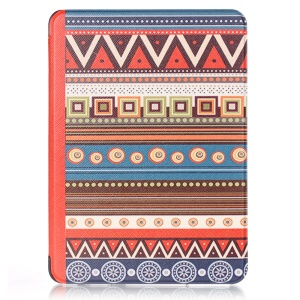 Ethnic Style Pattern Smart Leather Cover for Amazon Kindle Voyage 6.0 inch