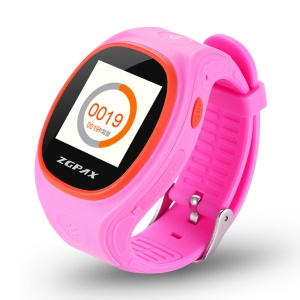 ZGPAX S866 2-way Conversation Smart Kids Watch with SOS GPS etc - Rose