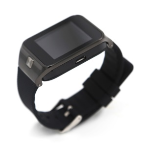W02 1.56-inch Screen Smart Watch Phone Support Bluetooth Pedometer - Black