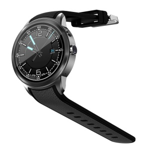 X200 3G Bluetooth Smart Watch with GPS Heart Rate Monitor Pedometer - Black
