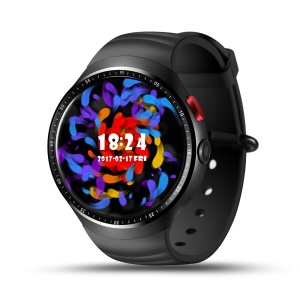 LEMFO LES1 1.39-inch Waterproof Sports Smart Bluetooth WiFi Watch Phone 1+16GB - Black