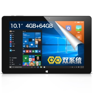 CUBE iWork10 Ultimate Tablet PC 10.1-inch Intel Z8300 Quad-core Windows 10 + Android 5.1 4GB+64GB