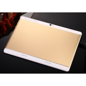 K109 10.1 inch Android 5.1 MT6753 Cortex-A53 Tablet PC 2G+32G - EU Plug / Gold