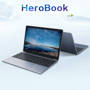 CHUWI Herobook 14,1-Zoll-Laptop-Fenster 10 Intel X5-E8000 Quad Core 4GB 64GB - EU-Stecker