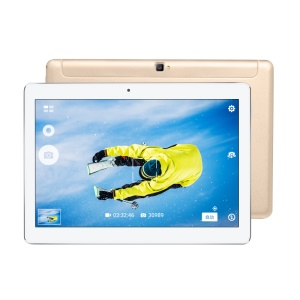 VOYO Q101 4G Phablet 10.1 inch Android 6.0 MT6753 Tablet PC (CE/RoHS) - Gold