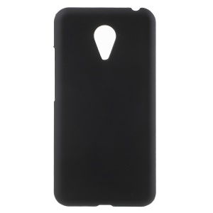Rubberized Plastic Shell Cover for Meizu MX5 - Black