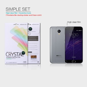 NILLKIN Anti-fingerprint Clear Screen Protector for Meizu m2 note