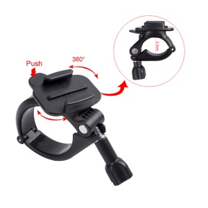 25-30mm Handlebar / Seatpost / Pole Mount for GoPro Hero6 Black /Hero5 Black/4/3, Xiaomi Yi, SJCAM Etc. Sports Cameras