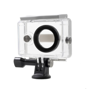 Waterproof Plastic Housing Case for Xiaoyi Action Camera - White