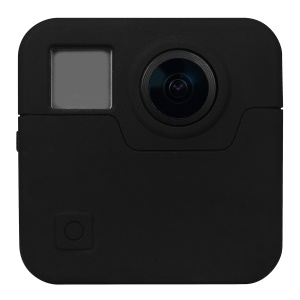 Soft Silicone Protective Case for Gopro Fusion - Black