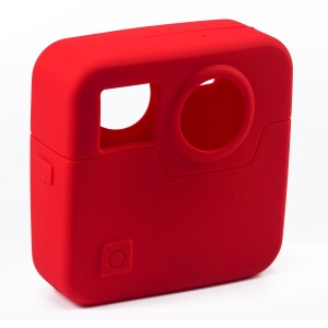 Soft Silicone Protective Shell for Gopro Fusion - Red