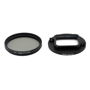 52mm CPL Polarizer Lens Set for GoPro Hero 5/6