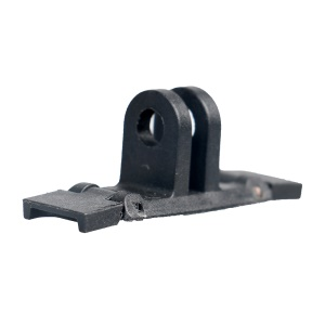 Plastic Rail Mount Adapter Bracket for GoPro Fusion