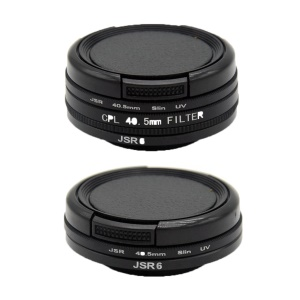 40,5-mm-UV / CPL-Filterlinsensatz Für Die SJCAM SJ6 LEGEND Action-Kamera