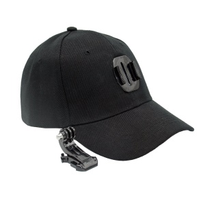 AT685 Baseball Cap with Base J-type Bracket for GoPro Hero 6/5/4/3+/3/2/1/sj4000/sj5000/sj6000/xiaomi yi