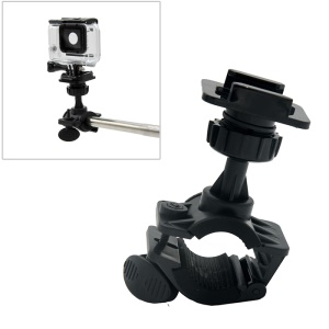 AT681 Rotatable Bike Bicycle Motorcycle Handlebar Mount Holder Adapter for GoPro Hero 6/5/4 etc.