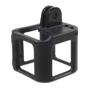 Custodia laterale in plastica laterale per custodia per GoPro Hero 4 Session - Nero