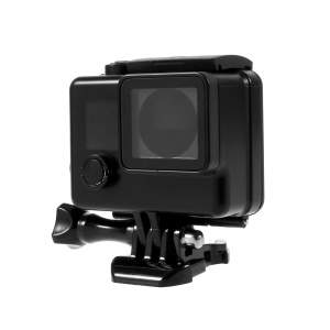 AT468 Black Color Waterproof Case Cover Housing for Gopro Hero 3+ 4