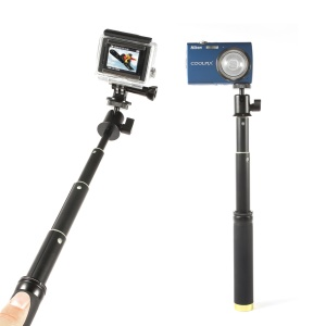 Extendable Handheld Selfie Monopod for Cameras & GoPro Action Cameras