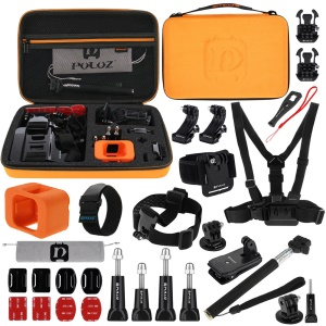 PULUZ PKT32 29 in 1 Camera Accessories Combo Kit for GoPro Hero5 Session / Hero4 Session